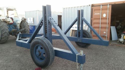 trailers porta bobinas - tendidos eléctricos - perra