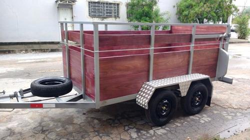 trailers reboque carreta transportar cavalo modelo