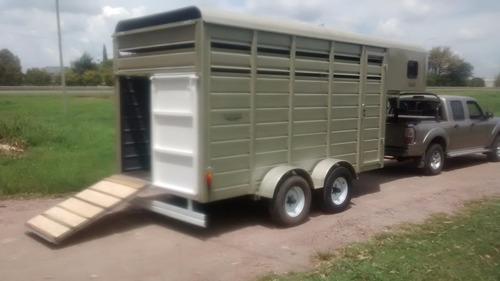 trailers salto polo  pato o casilla rodante