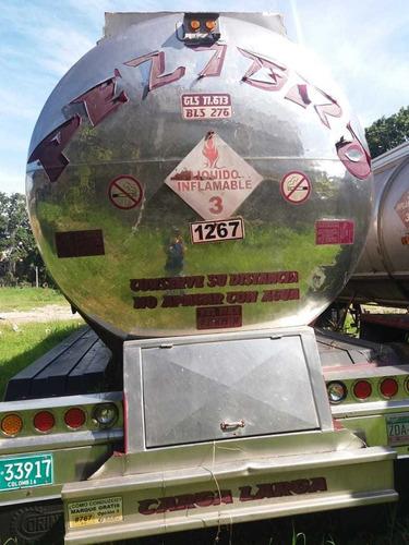 tráilers tanque acero de 2 y 3 comp., primer y único dueño