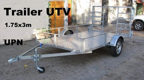 trailers utv cutriciclos