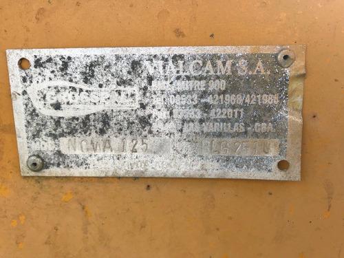 traílla grosspal nova 125 1,3 m3