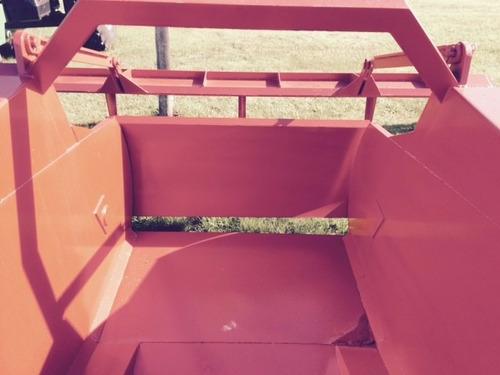 traílla rdm 3 m3 con pala trasera y cubiertas