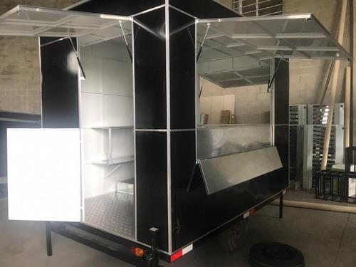 trailler food truck 2019 muito novo emplacado