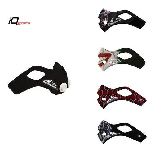 training mask 2.0 mascara deportiva correr y sleeve regalo