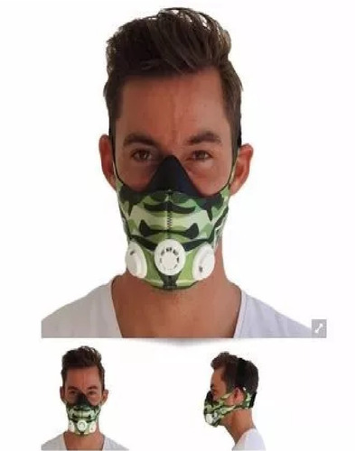 training mask máscara de entrenamiento new 2.0 camuflado