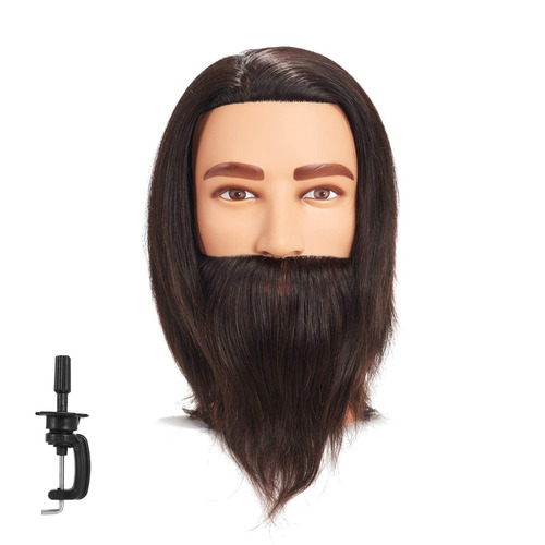 traininghead 8-10 '' cabeza masculina del maniquí 100% del