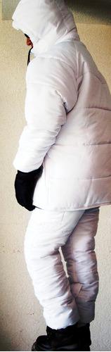 traje anorak termico chamarra y pantalon nieve montaña esquí