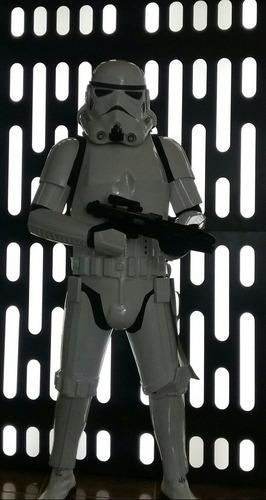 traje armadura stormtrooper star wars con hombrera pauldron