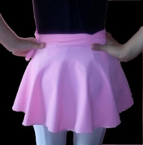 traje ballet malla,falda,medias y zapatillas. envío gratis