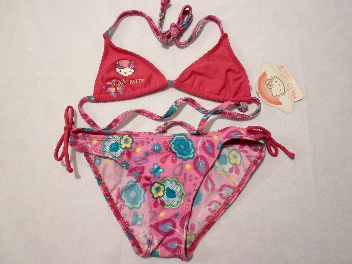 Para De Baño Kitty Bikini Años Niña 6 Traje Hello KJ3TF1cl