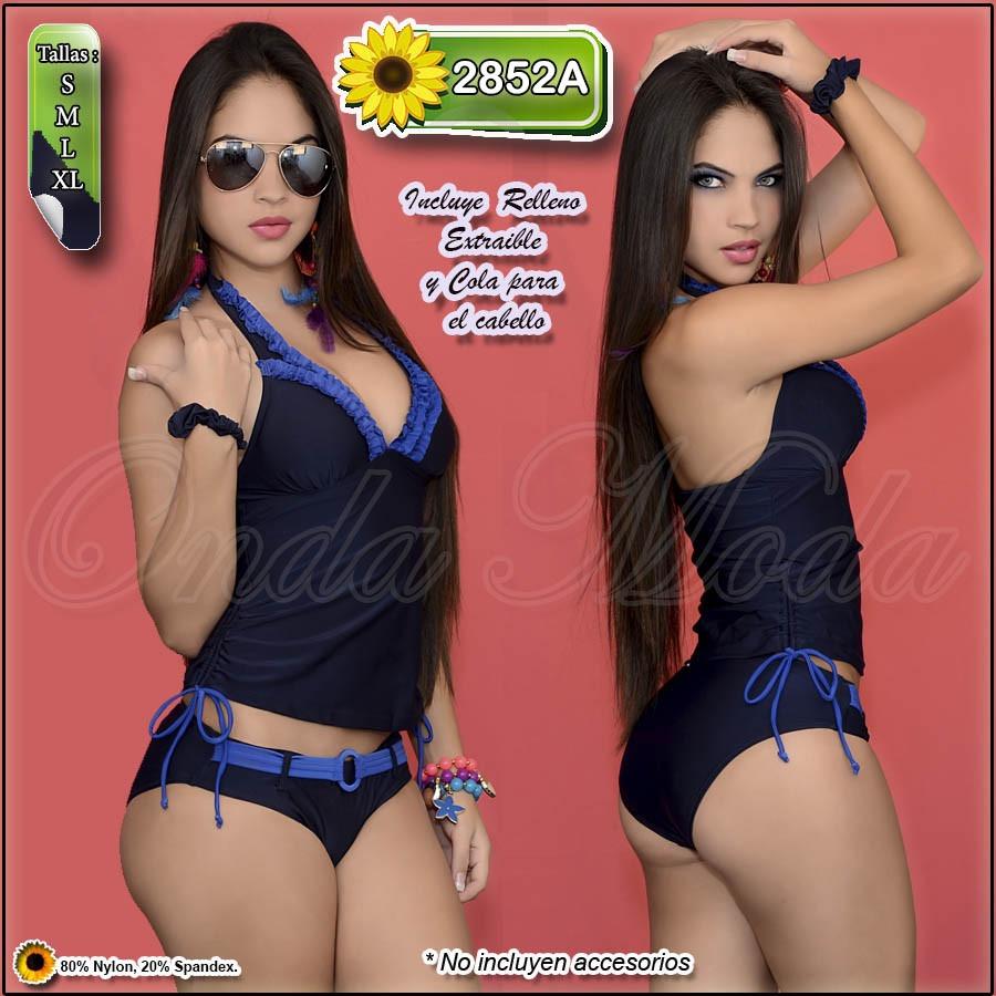 cdb951c9c6b5 Traje Baño Dama Ultima Moda Enteros Importado Completos