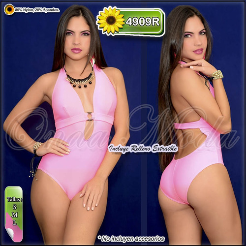 traje baño damas ultima moda 2017 enterizos coleccion entero