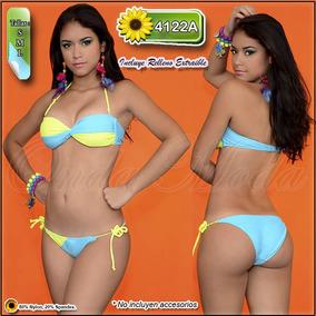 disponibilidad en el reino unido 52f74 9d6f8 Traje Baño Damas Ultima Moda Bikini Semi Hilo Strapless