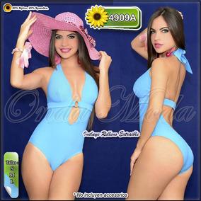 9eb79934b Trajes De Baño Enteros Modernos - Trajes de Baño Mujer en Mercado Libre  Venezuela