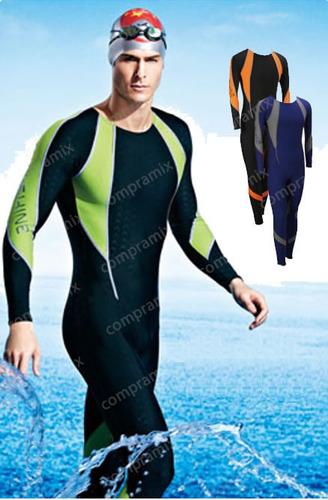 ac407e924 Traje de ba o natacion completo para hombre y mujer vv4 Trajes de bano  natacion