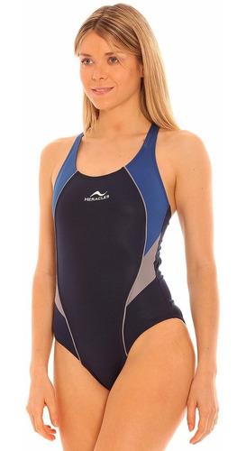 traje baño natacion malla resistent cloro heracles slimwaist
