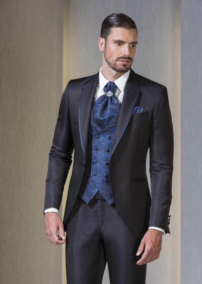 562cdbedcab7b Traje Boda Novio Moderno Vestido Slim Fit Elegante Paño -   650.000 ...