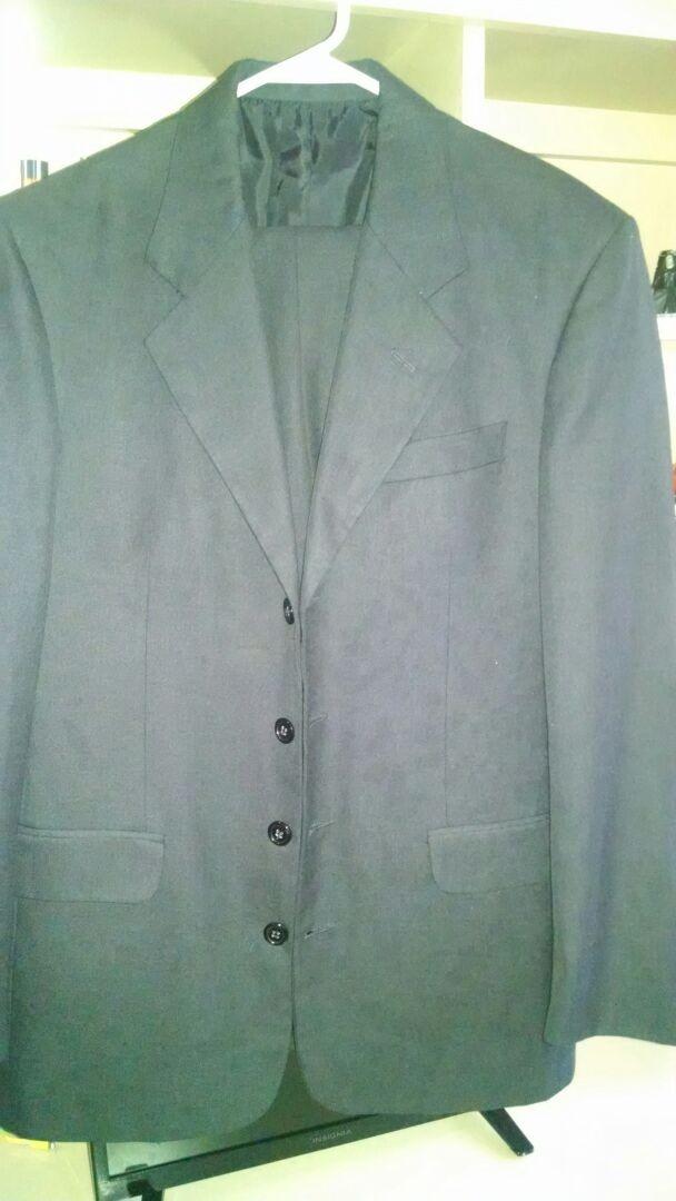 b3c46778c8ea6 Traje Brandino Italy Talla 36 Negro Mate -   500.00 en Mercado Libre