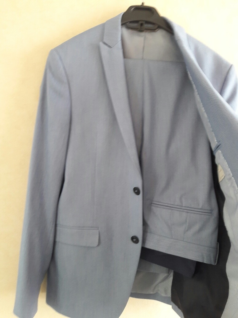 Traje Celeste De Hombre Marca Zara -   60.000 en Mercado Libre ebab1f06995