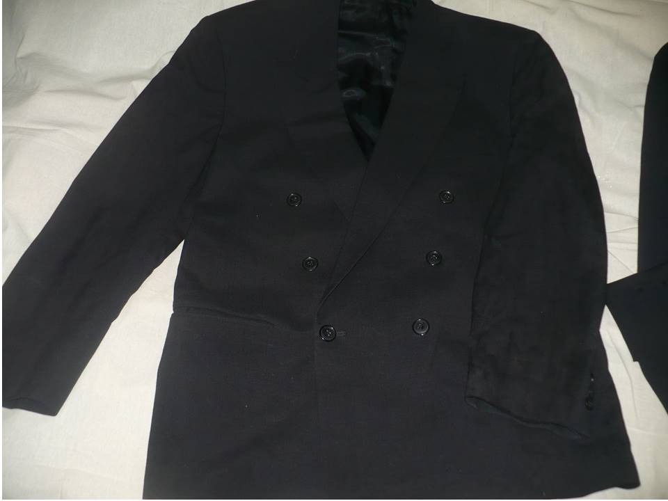 a2a1bdc24e911 Traje Completo Caballero. Negro Talla 40c -   500.00 en Mercado Libre