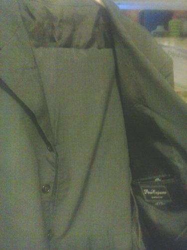 traje completo pantalon y flux de caballero