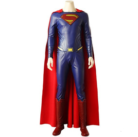b48128cdbf Traje Cosplay Disfraz Superman Man Of Steel Justice League