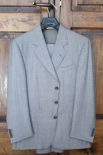 traje covarra 100% lana italiana