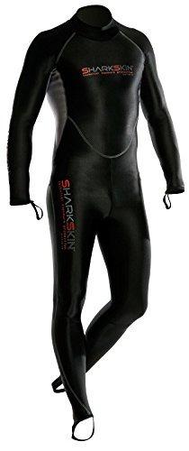 traje de 1 pieza sharkskin chill-proof para hombre con crema