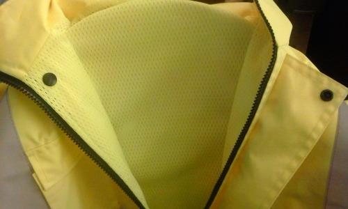 traje de agua impermeable resistente a desgarros
