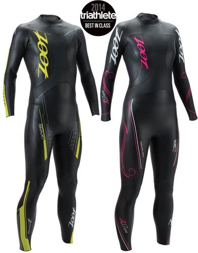 traje de agua zoot force 3.0 (wetsuit triatlón). mujer