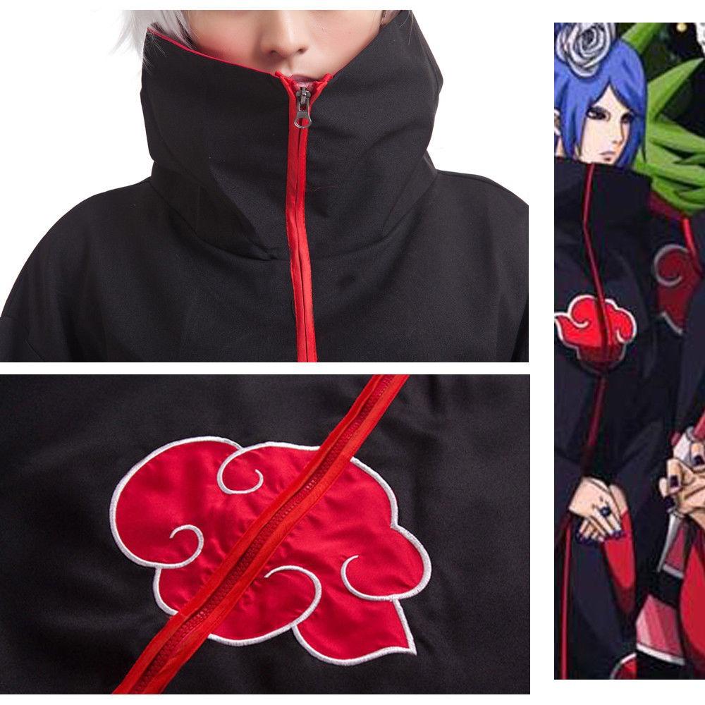 traje de akatsuki uchiha itachi+anillo+banda de itachi m y s. Cargando zoom. d8bd8041cf1a