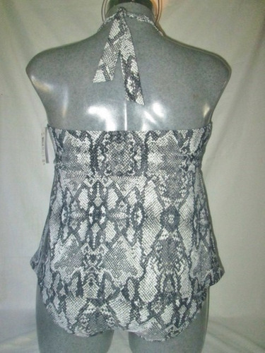 traje de baño animal print 2 piezas talla 22w jakeline smith
