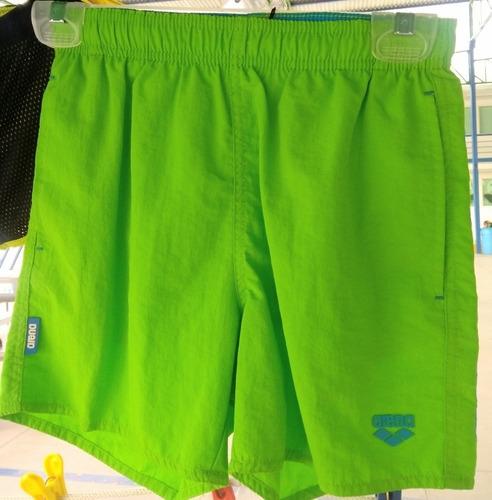 traje de baño arena verde boxer talla 10-11 junior