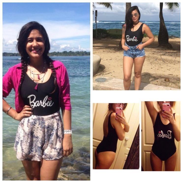c433f7462ddaf Traje De Baño Barbie Negro Monokini Completo Bikini -   549.00 en ...
