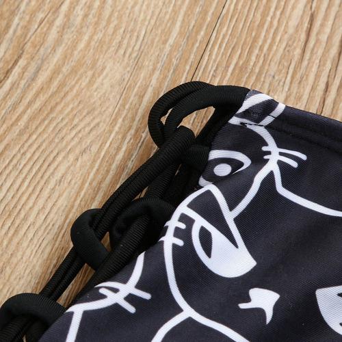 traje de baño bikini dos piezas gato push up playa natacion