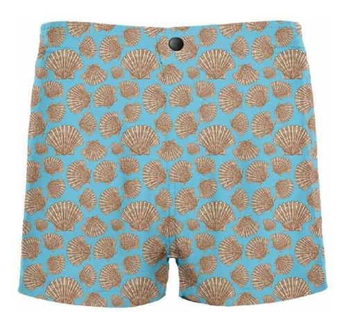 traje de baño button shells crouch