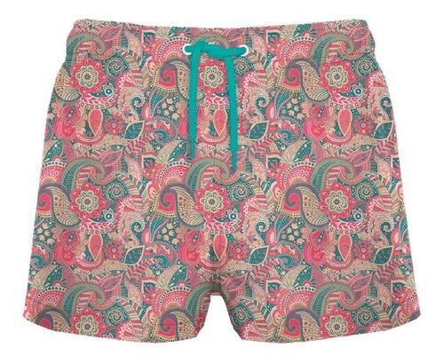 traje de baño corto búlgaros coral crouch