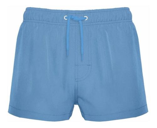 traje de baño corto lavanda liso crouch