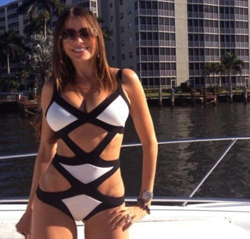 traje de baño dama monokini blanco negro talla chica playa s