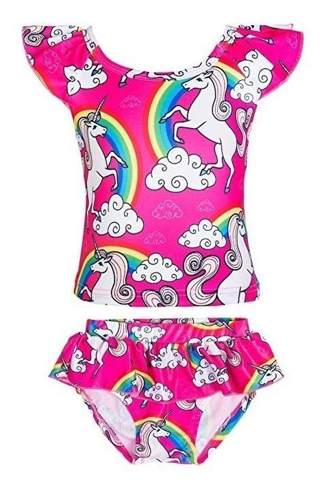 Swimwear, Surfwear & Wetsuits KABETY Girls Rainbow Unicorn