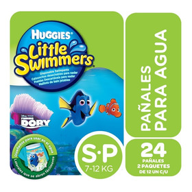 Traje De Baño Huggies Little Swimmers Pack X2 - Talles P M G