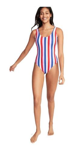 traje de baño mujer completo espalda media 392004 old navy
