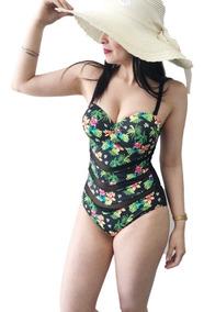 ce8bfd454a8 Traje De Baño Flores - Trajes de baño Mujer en Mercado Libre Chile