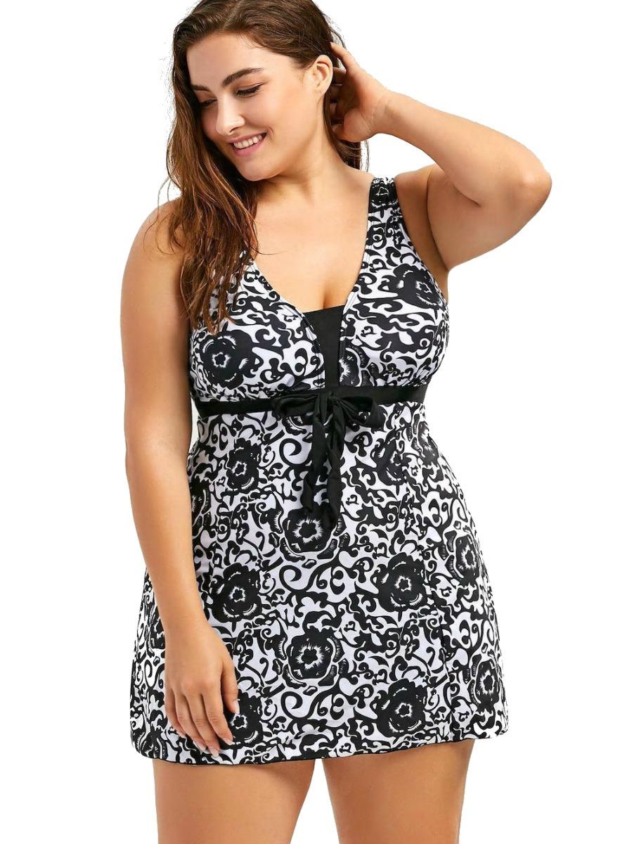 93783fee traje de baño mujer vestido tallas grandes xl envio gratis! Cargando zoom.