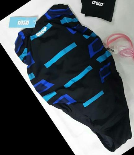traje de baño natación estampado para damas marca arena