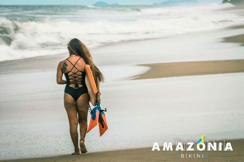 traje de baño negro /amazonia-bikini