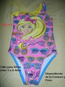 43 Talla Niña 5 De Traje Barbie Baño AñosMattel TlK1FJc