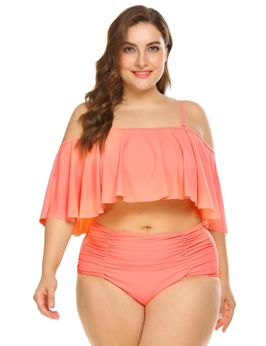 ca505083 Traje De Baño Para Mujer Bikini Completo Tallas Extras - $ 399.90 en ...