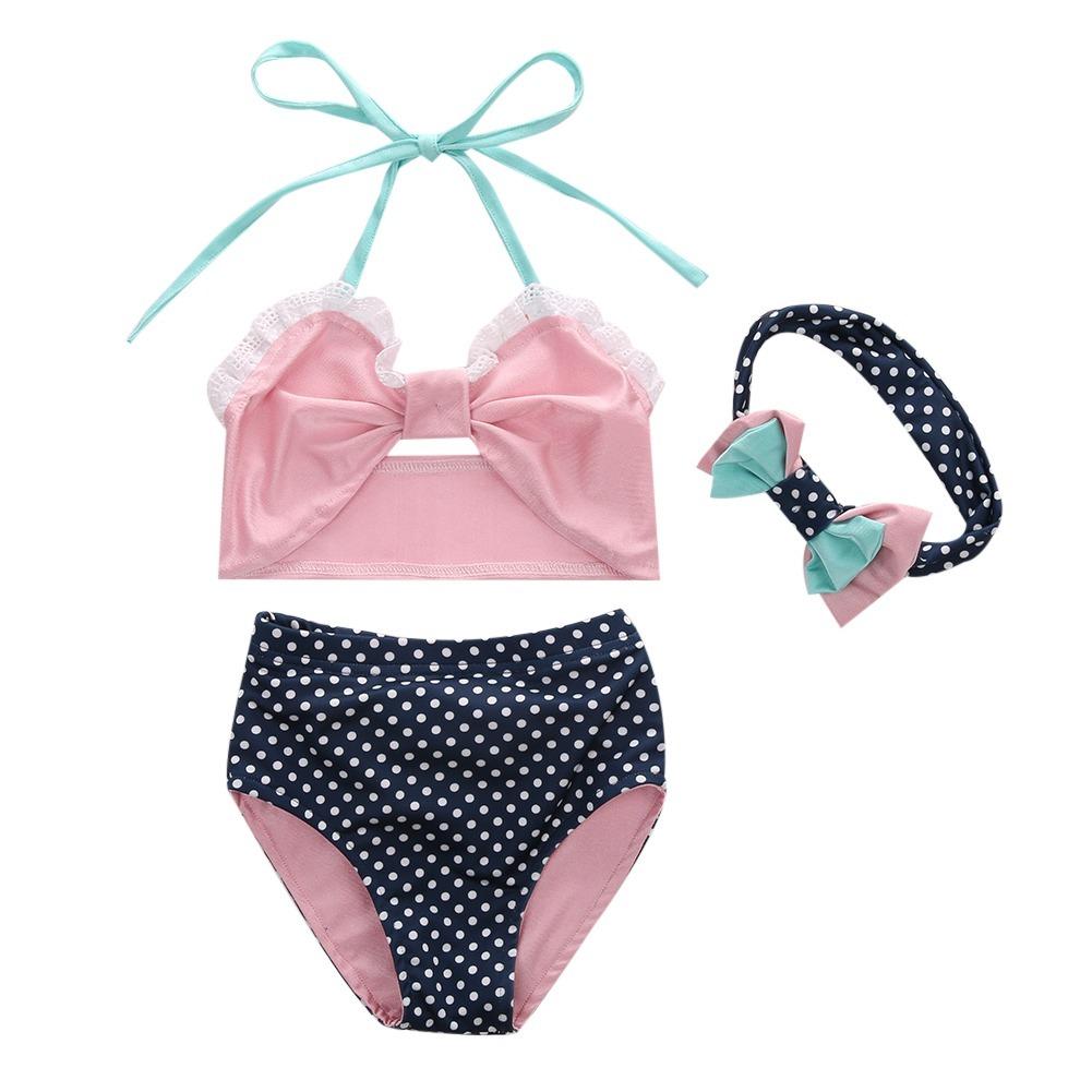 20562c5a7 Traje De Baño Para Niña Bikini Fashion! - $ 290.00 en Mercado Libre